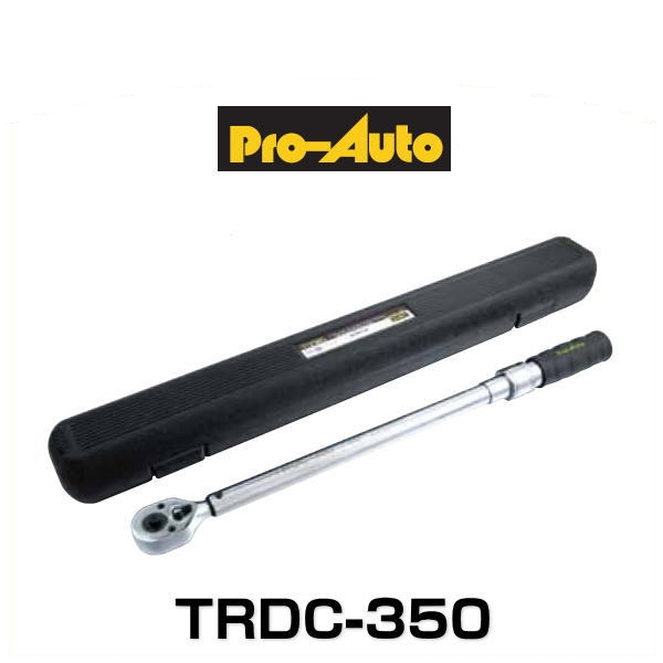 プロオート スエカゲツール TRDC-350 トルクレンチ 1/2 12.7sq. (70~350N・m)