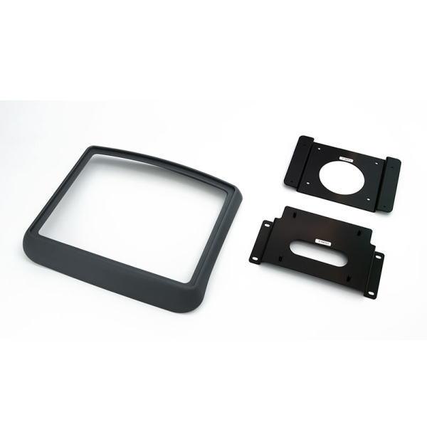 ALPINE アルパイン KTX-Y703BK ハイエース/レジアスエース専用10型リアビジョンパーフェクトフィット(キット色:黒)