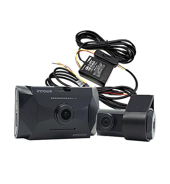 innowa GT005 GRAVITY 究極セット ドライブレコーダー 前後2カメラ 電源直結コード パワーナイトビジョン フルHD Wi-Fi GPS ノイズ対策 HDR 64GB付