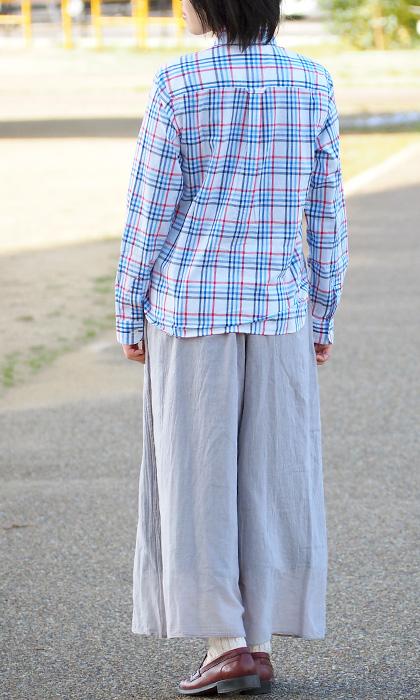 Gauze Clothing Workshop Garage Single 2 Sheets Layered Reversible Yoga Pants