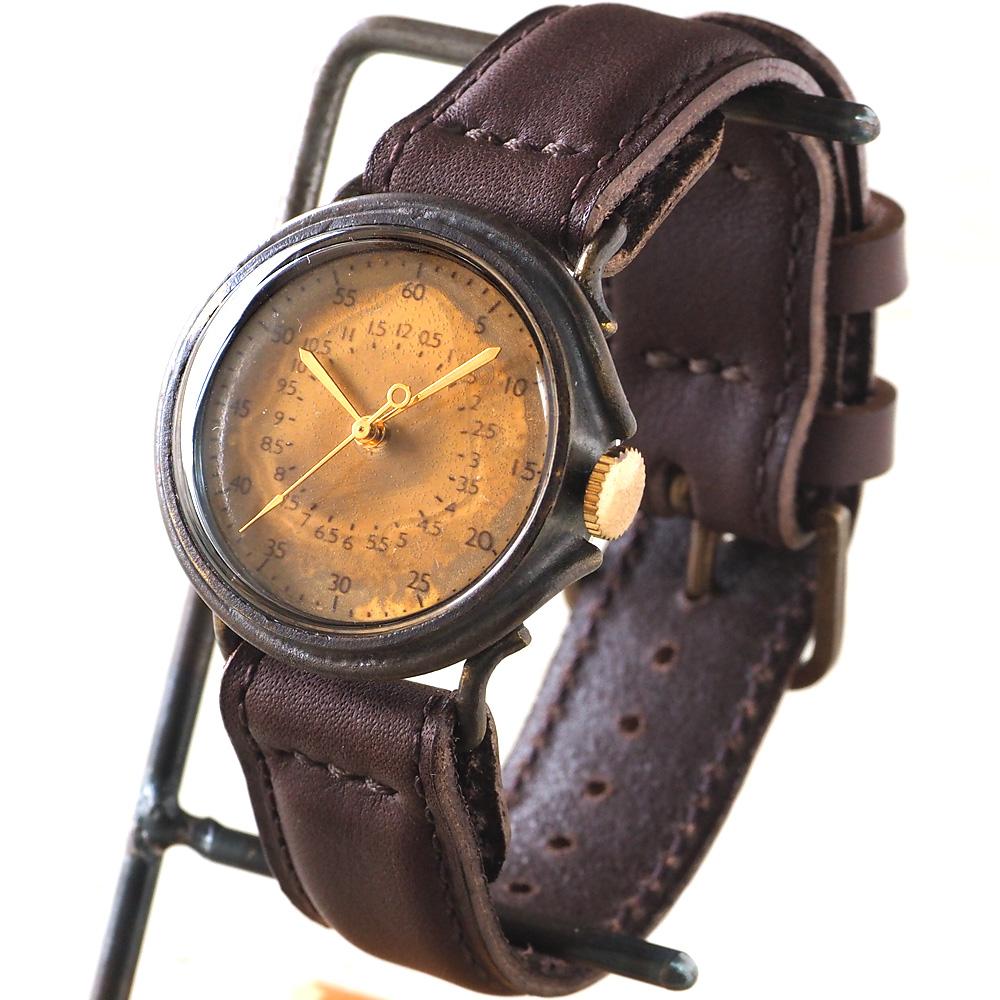 "JOIE INFINIE DESIGN(ジョイ アンフィニィ デザイン)手作り腕時計""WHITE -ホワイト-""イタリアンレザーベルト [D-4898] ハンドメイドウォッチ・ハンドメイド腕時計 メンズ レディース アンティーク調 本革ベルト アナログ シンプル 日本製 国産"