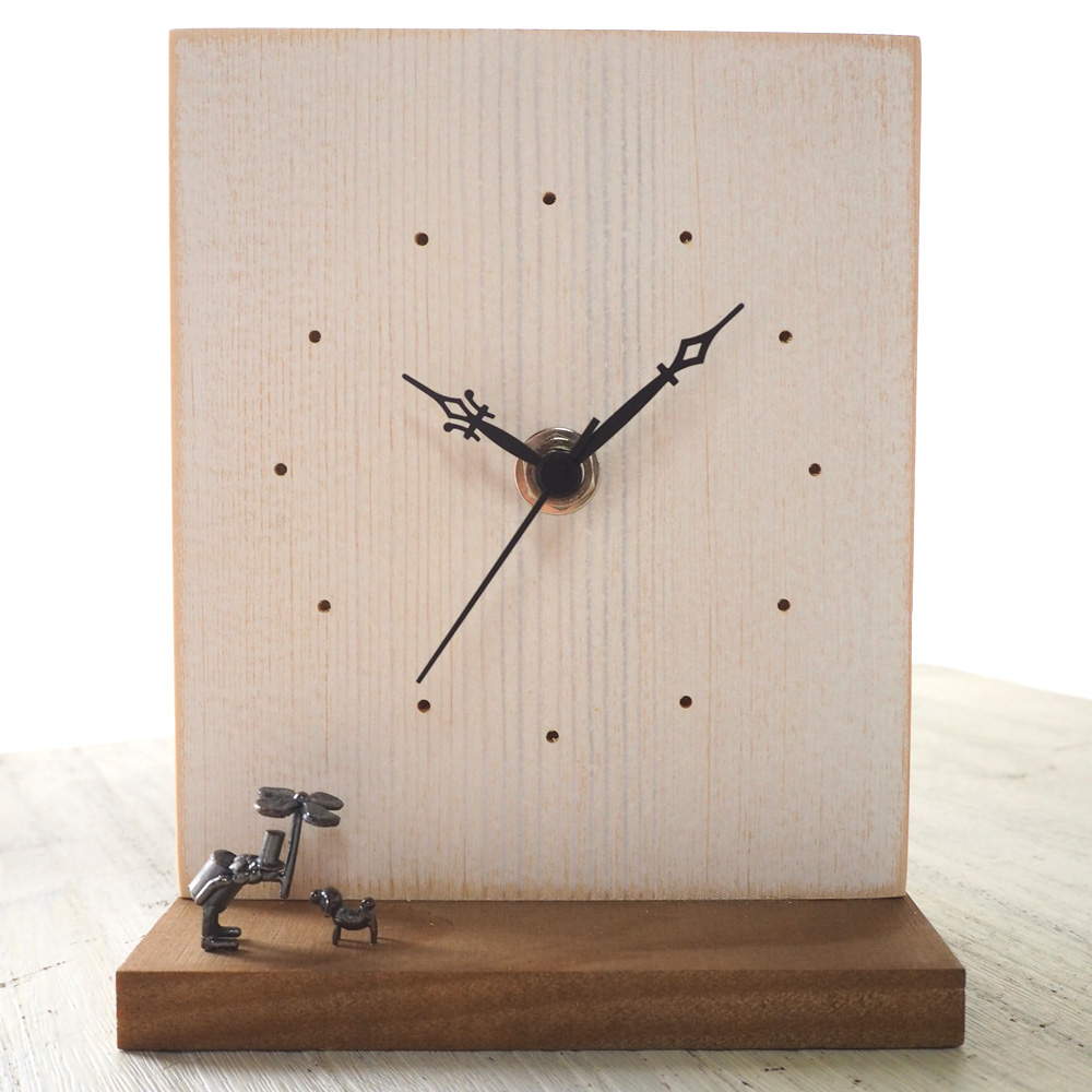 "Accessories No 03 Clocks: Craftcafe: Table Clock ""song Of The Rain"" [KO-WC-03"