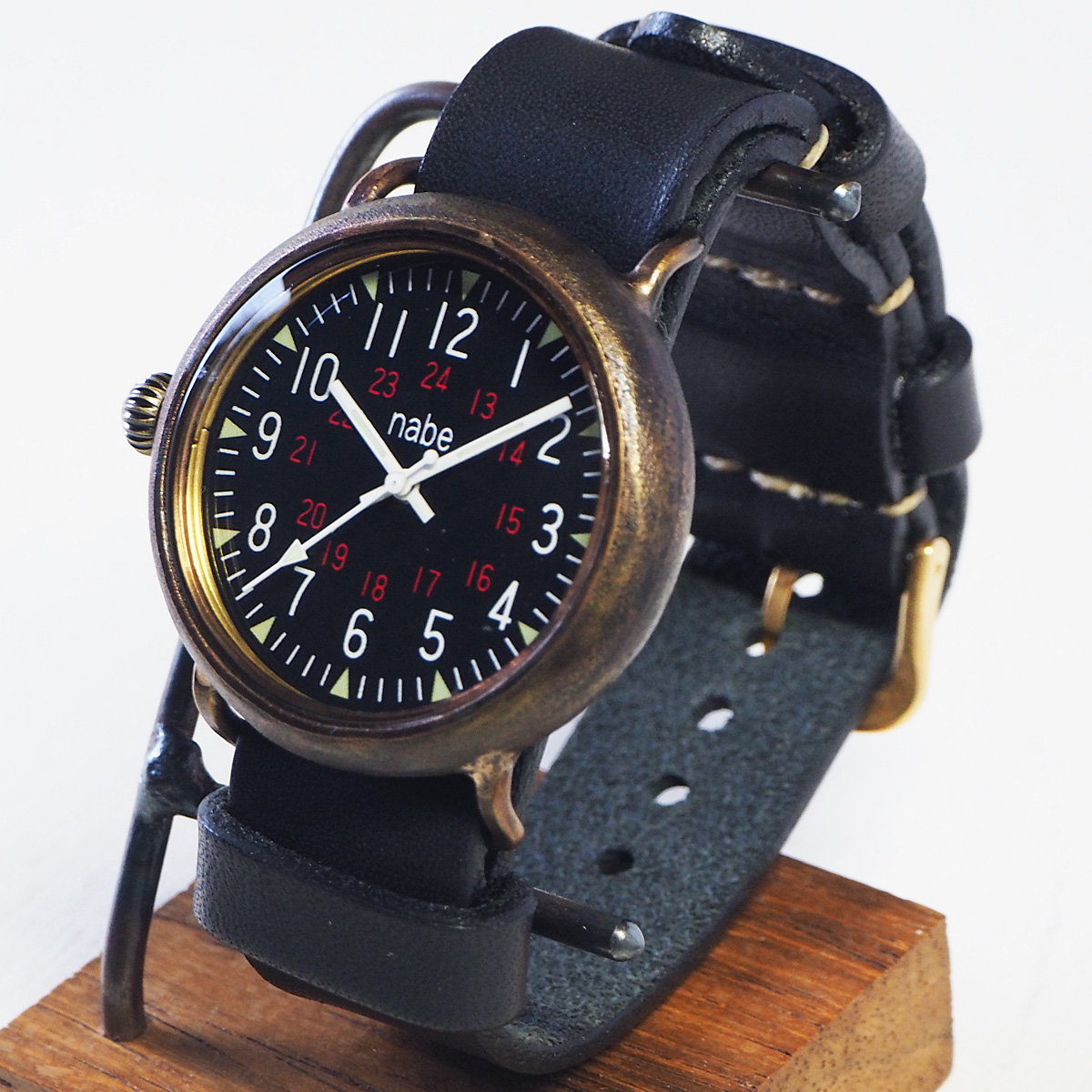 渡辺工房 手作り腕時計