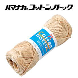 SALE 毛糸 合太 コットン ハマナカ \ 綿100% 奉呈 1玉価格 11日まで限定 コットンノトック 当店通常価格5%オフ