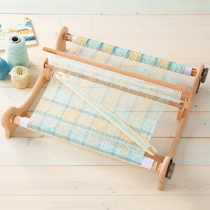 ハマナカ手織り機(木製) オリヴィエ<織美絵>60 最大織り幅60cm 白木