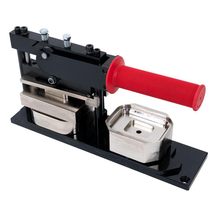 53x78mm 丸角長方形タイプ缶バッジマシン