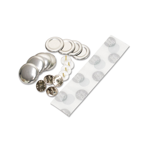 22mm ピンズ型くるみボタンパーツセット 250個