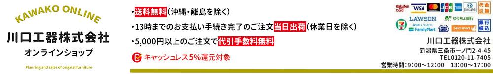 川口工器株式会社 Online Shop:当店では自社企画のアイデア収納を中心にご紹介しております