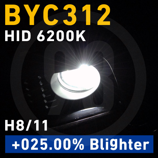 BREX HID H8/11 6200K +025.00% Blighter BYC312 for BMW /ブレックス
