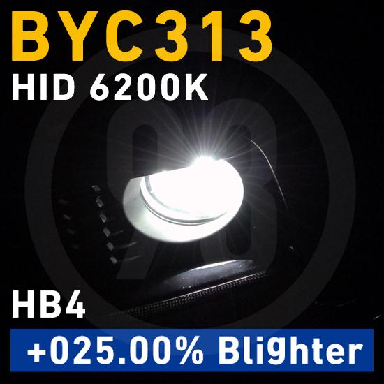 BREX HID HB3/HB4 6200K +025.00% Blighter BYC313 for BMW ブレックス