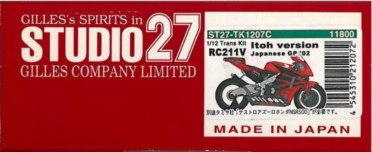 1/12 HONDA RC211V日本GP'02伊藤仕様