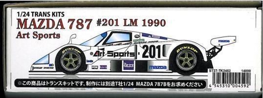 MAZDA 787 #201 LM 1990 Art 1/24TRANS KITS