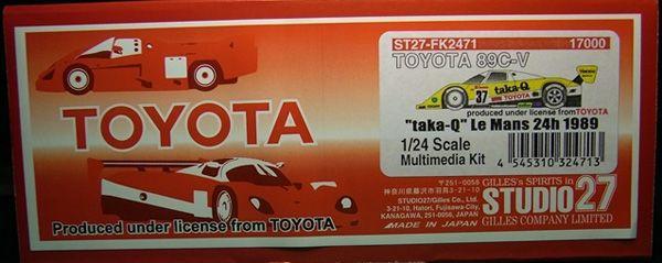"""TOYOTA 89C-V""""taka-Q"""" LM'89"""