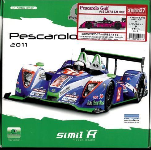 1/24 Pescarolo Gulf #49 LMP2 LM 2011 (トランスキット&デカールセット付属)【similR】