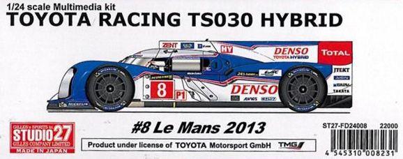 TOYOTA RACING TS030 HYBRID