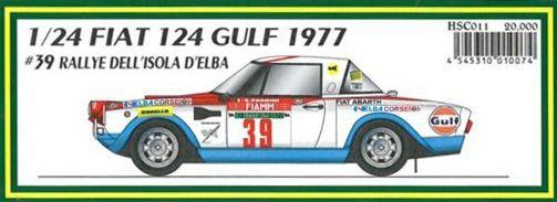 FIAT 124 GULF 1977 #39 RALLYE DELLD'ELBA