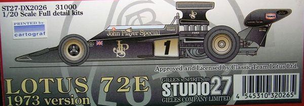 LOTUS (LOTUS)72D後期型 '72