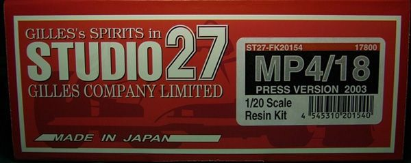 MP4/18プレス'03