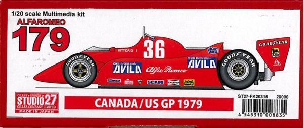 ALFAROMEO 179 CANADA/US GP 1979 Multimedia kit