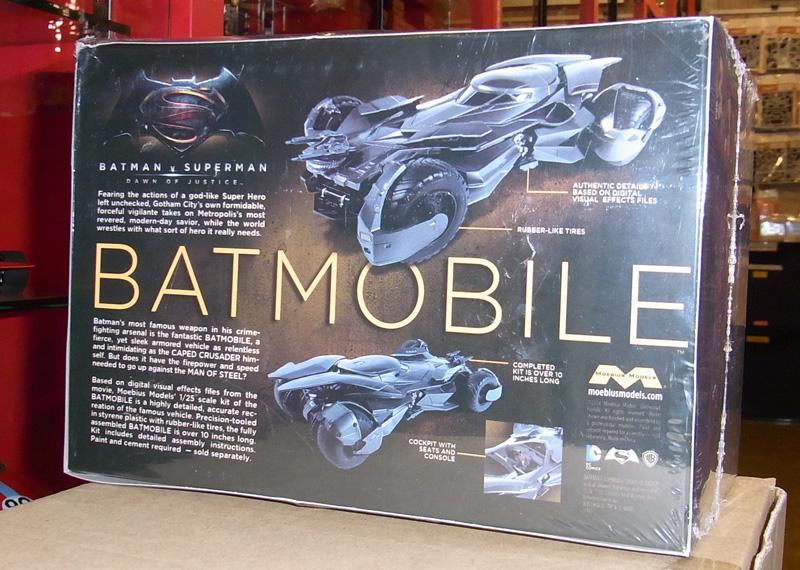 1/25 Moebius model bat Mobil (birth of battement vs  the superman justice)