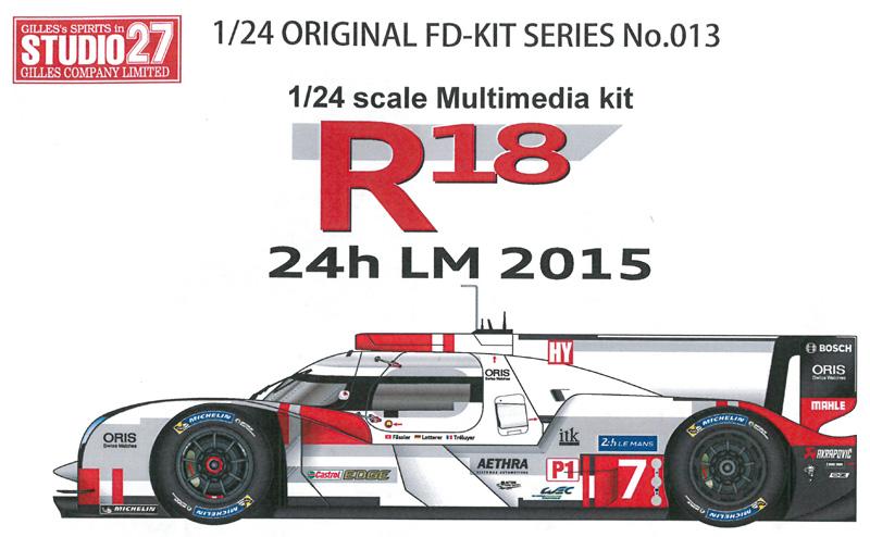 R18 24h 2015   1/24 Multimedia kit