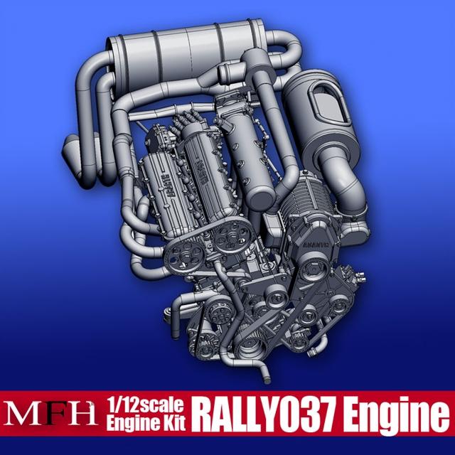 Rally 037 Engine【ランチア ラリー037 エンジンキット】