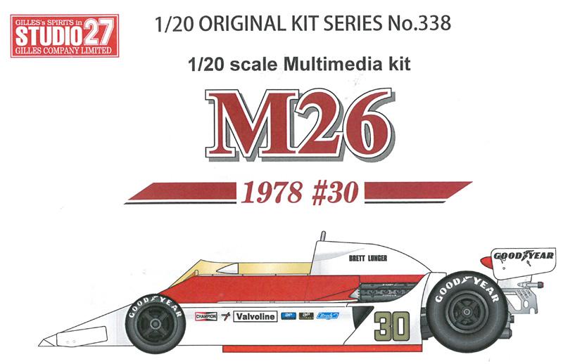 M26 1978 #30 【スタジオ27 1/20 FK20338】