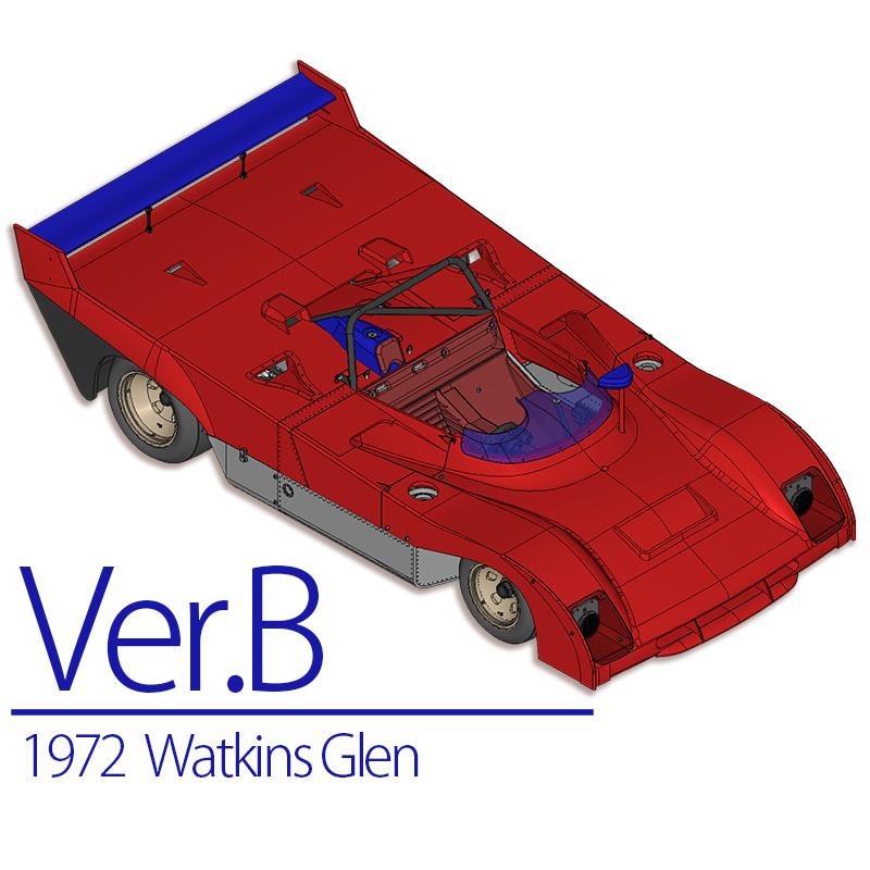 フェラーリ 312PB 1972 Ver.B【MFH 1/12 K588 Ferrari】