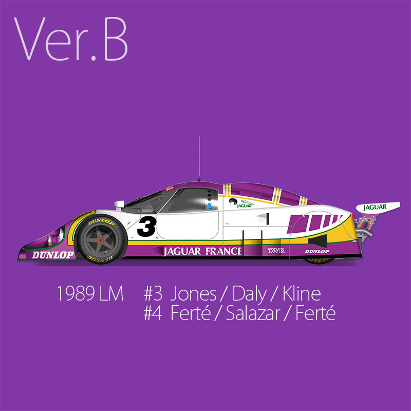 XJR-9 LM 1989 LM 24hours【MFH 1/43 k591 Ver.B】