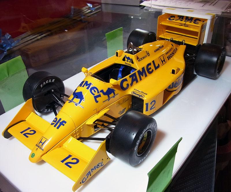 1/12 ロータス99T 1987年日本GP セナ仕様【完成品ケース付モデル 配送可能】