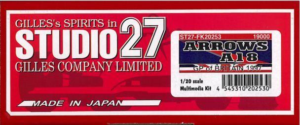 アローズ FK20253】 A18 GP of BRITAIN 1997【スタジオ27 1 1/20/20 A18 FK20253】, MARUKUMA:cb467076 --- sunward.msk.ru