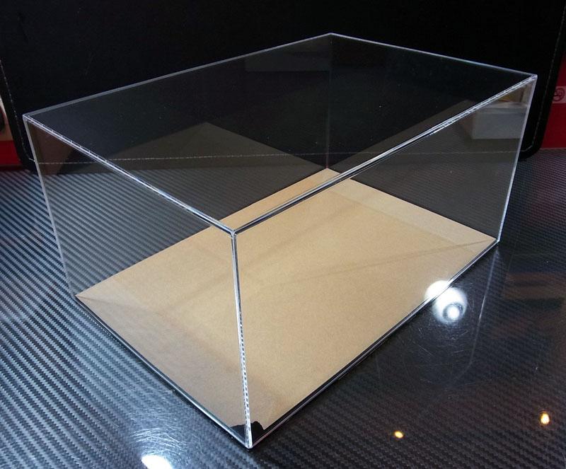 アクリル製 ディスプレイケース【外寸:幅310mm・奥行210mm・高さ115mm】