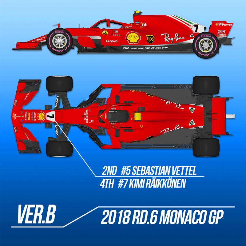 フェラーリ SF71H Ver.B【モデルファクトリーヒロ MFH K671】