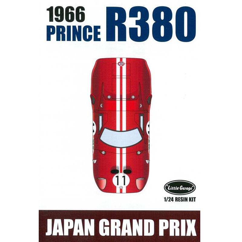 1/24 PRINCE R380 (1966 JAPAN GP)【リトルガレージ LG2401K】