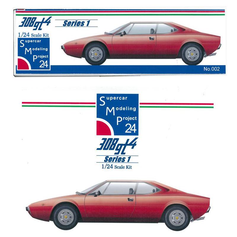 1/24 ディーノ308gt4【SMP24 Supercar Modeling Project24】