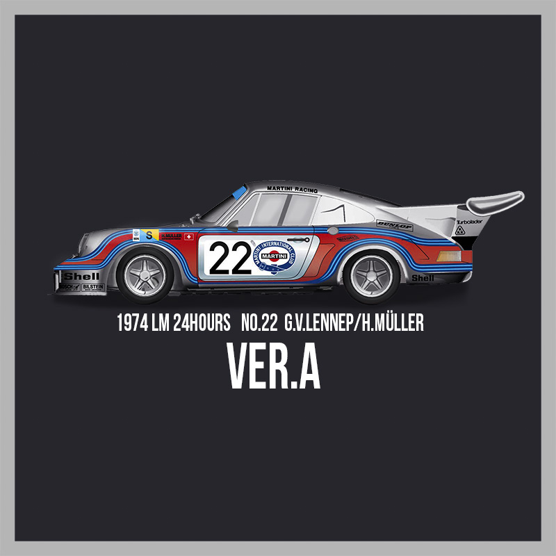 911 Carrera RSR Turbo #22【MFH 1/12 ポルシェ Ver.A K713】