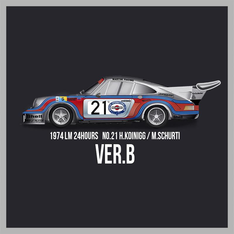 911 Carrera RSR Turbo #21【MFH 1/12 ポルシェ Ver.B K714】