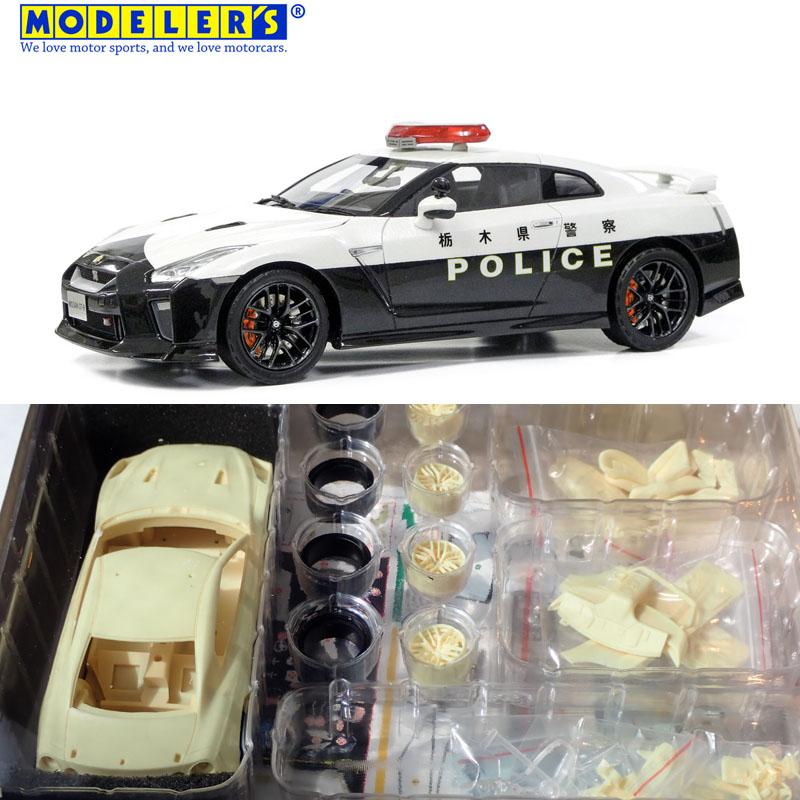 1/24 NISSAN GT-R PATROL CAR 栃木県警察【モデラーズ MK023】