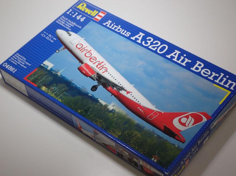 レベル 1 信託 144 旅客機 送料無料新品 エアバスA320 04861 エアーベルリン