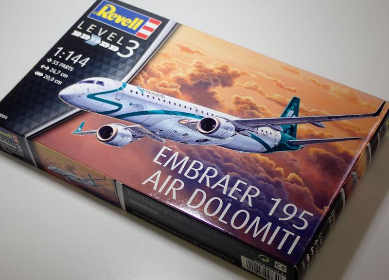 レベル 1 144 新色追加 卓出 旅客機 ERJ-195 04884 エンブラエル