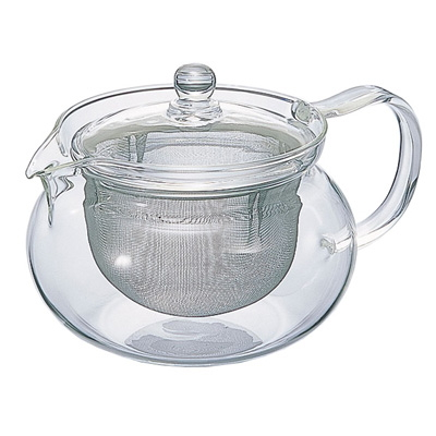 HARIO ◆高品質 ハリオ 耐熱ガラス製 お中元 茶茶急須 700ml 丸 CHJMN-70T