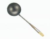 鉄 中華お玉 小 530-15_ET メーカー公式ショップ 約130cc 直径105×全長440mm 激安超特価