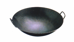 야마다공업소철우치데 중국요리에 사용하는 냄비 판두께 1.6 mm 60 cm