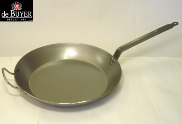 ≪IH・ガス火対応≫デバイヤー 鉄 フライパン5110 36cm_ES