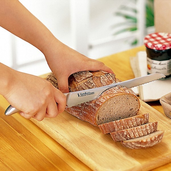 «Instant delivery OK! » Points 10 times! OK! Verdun knife-slim 225 mm ( cutting bread bread knife bread knife )