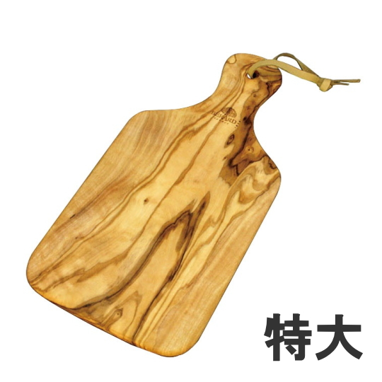 ベラール オリーブウッド カッティングボード 特大 54372長さ450×幅200×高さ16mm 6-1565-0801_ES