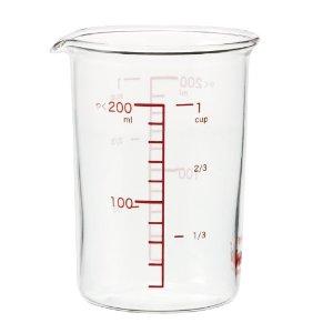 iwaki イワキ 耐熱ガラス メジャーカップ 大決算セール 252-03_ET KBTMC200N 計量カップ 200ml 定番から日本未入荷