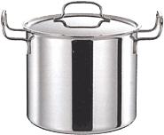 開店記念セール 長時間煮込む料理に最適 最安値に挑戦 ジオプロダクト 深型両手鍋 21cm GEO-21D 6.8L smtb-TK