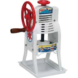 初雪 手動式ブロックアイススライサーかき氷器(氷削り器)HA-10-LA (かき氷機・かき氷機手動) 【smtb-TK】