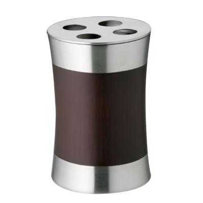 新作製品 世界最高品質人気 SALUS スプールウッド ハブラシホルダー 直径70×高さ100mm 超特価SALE開催 歯ブラシスタンド SK